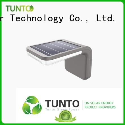 solar sensor lights outdoor with good price for household Tunto