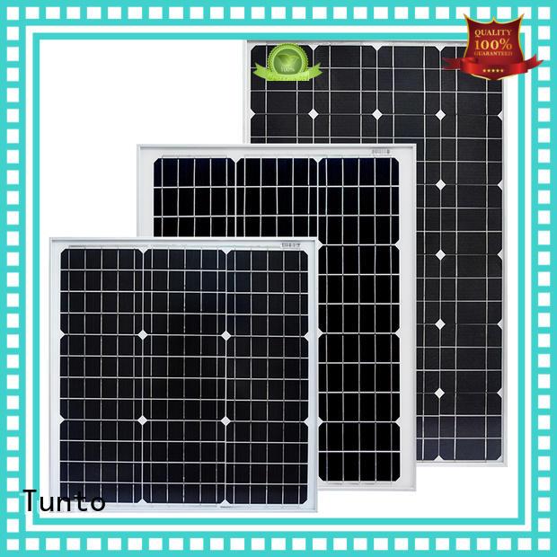 multicrystalline solar panels 100w for solar plant Tunto