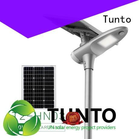50w solar panel outdoor lights factory price for plaza