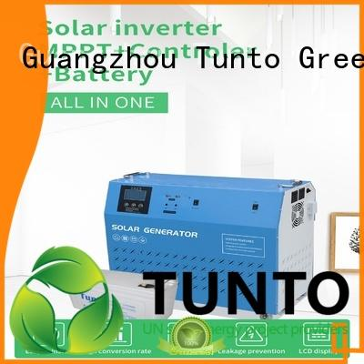 Tunto monocrystalline solar panel from China for plaza