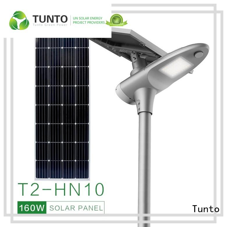 Tunto cool solar panel outdoor lights factory price for outdoor