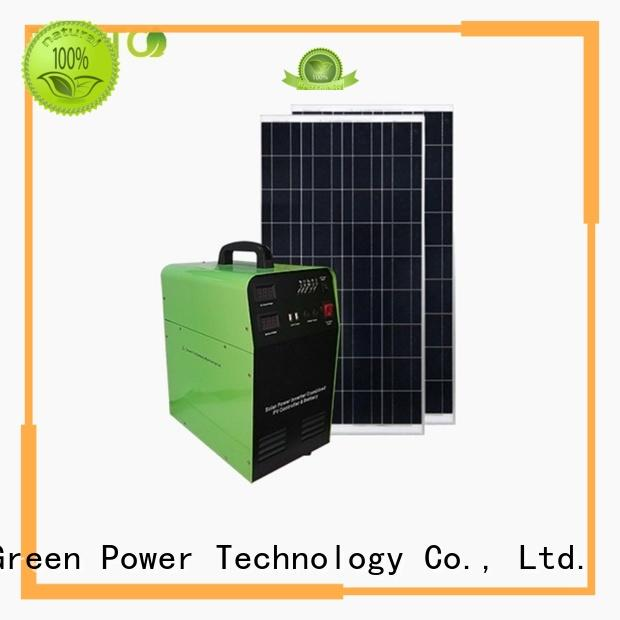 500w off grid solar kits customized for outdoor