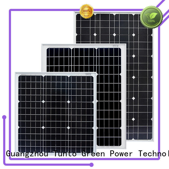 Tunto 60w monocrystalline solar panel supplier for household