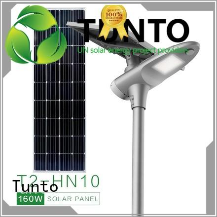 warm all in one solar street light supplier for parking lot