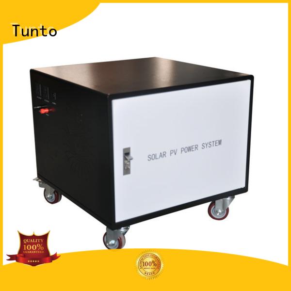 Tunto 600w off grid solar system price for road