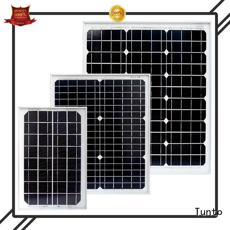 Tunto 40w polycrystalline solar panel factory price for solar plant