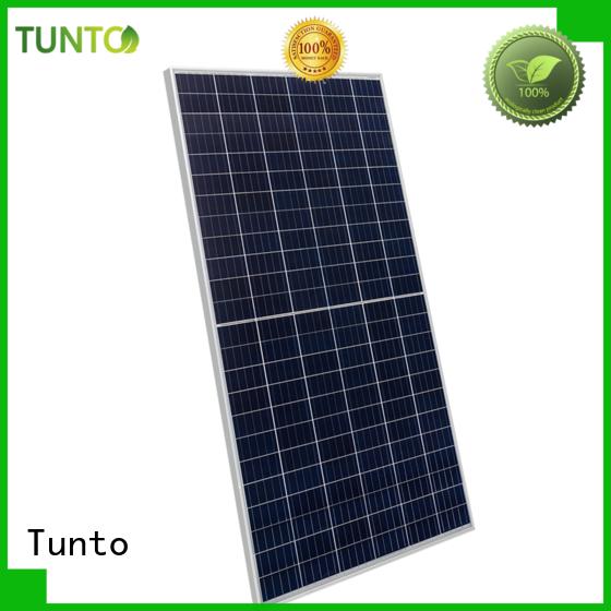 Tunto monocrystalline solar panel wholesale for solar plant