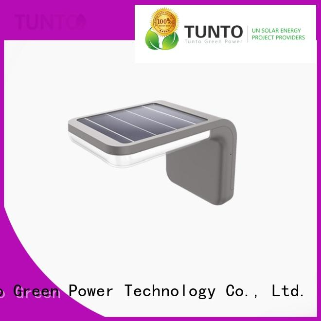 Tunto led decorative garden lights solar powered factory for household