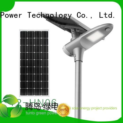outdoor motion cool Tunto Brand integrated solar led street light manufacture