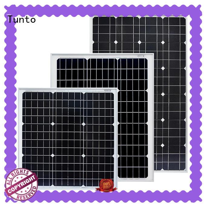 Tunto 40w monocrystalline solar panel wholesale for farm