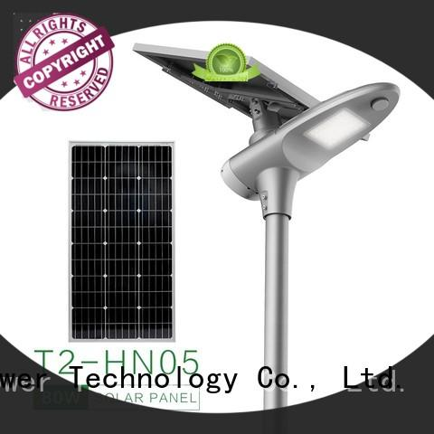 warm all in one solar street light factory price for plaza
