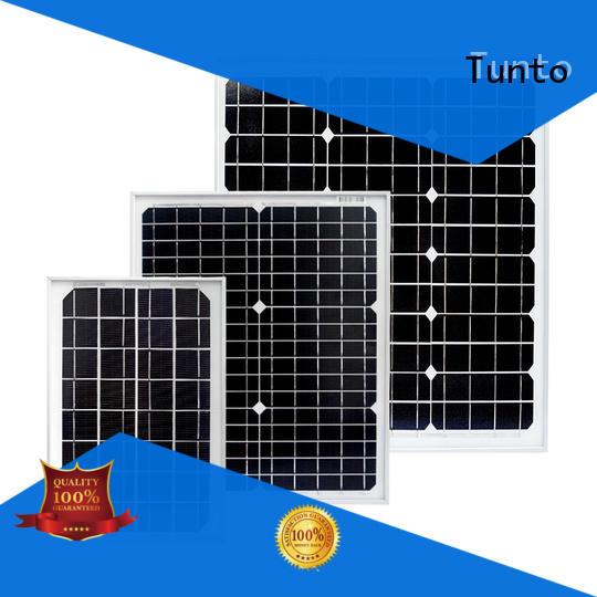 Tunto 80w monocrystalline solar panel factory price for solar plant