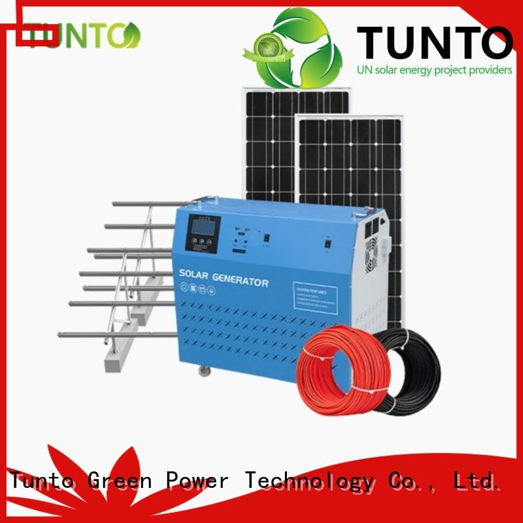 Tunto best solar generator directly sale for outdoor