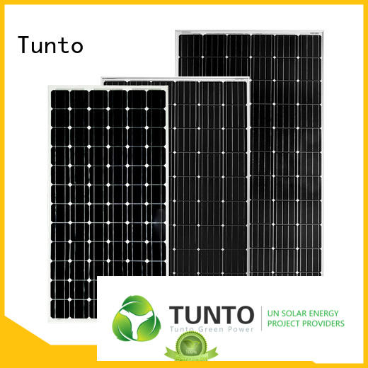 Tunto durable monocrystalline solar panel supplier for farm