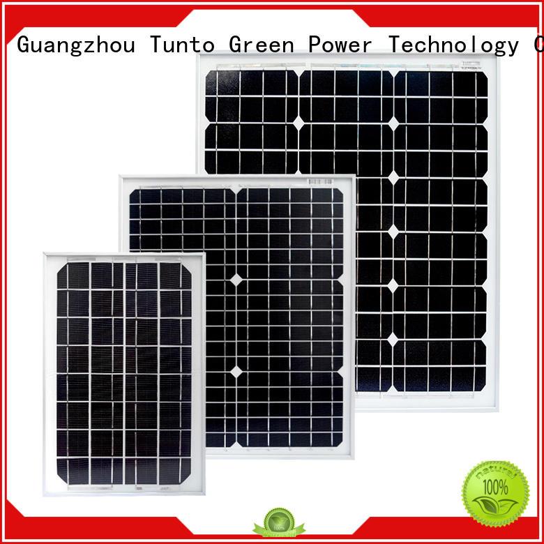 Tunto 60w multicrystalline solar panels supplier for street lamp