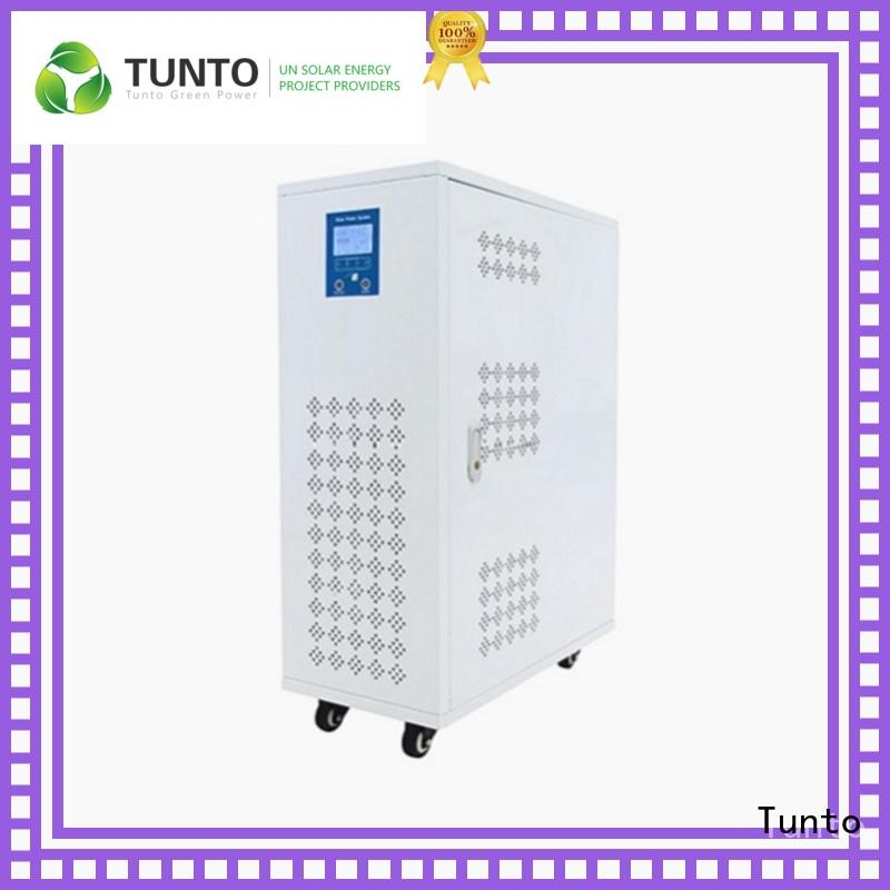 Tunto mini monocrystalline solar panel customized for plaza