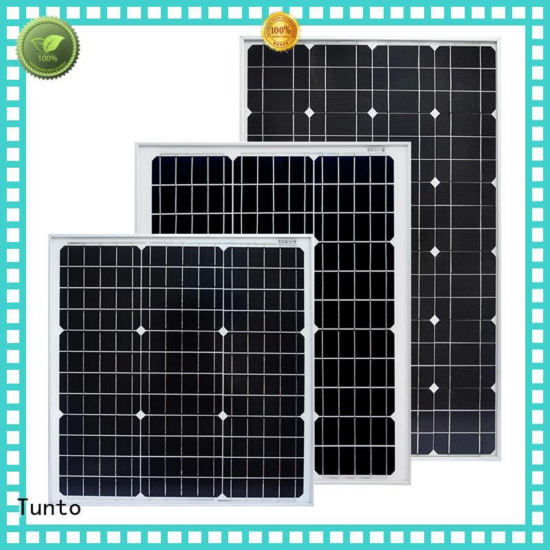 Tunto 100w off grid solar panel kits factory price for street lamp
