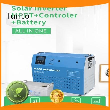 Tunto portable best solar inverters series for plaza