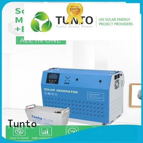 Tunto 8000w hybrid solar inverter directly sale for plaza