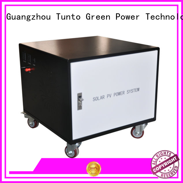 off grid solar kits customized for road Tunto