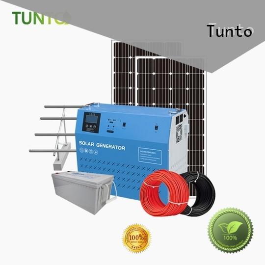Tunto hybrid solar inverter directly sale for plaza