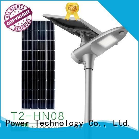 lamp street light Tunto Brand integrated solar led street light factory