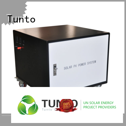 Tunto durable portable solar power generator 6000w for outdoor