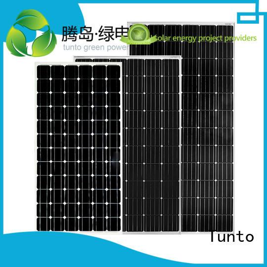 Quality Tunto Brand discount solar panels crystalline