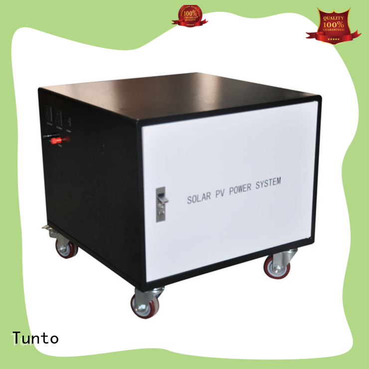 8000w portable solar power generator from China for outdoor
