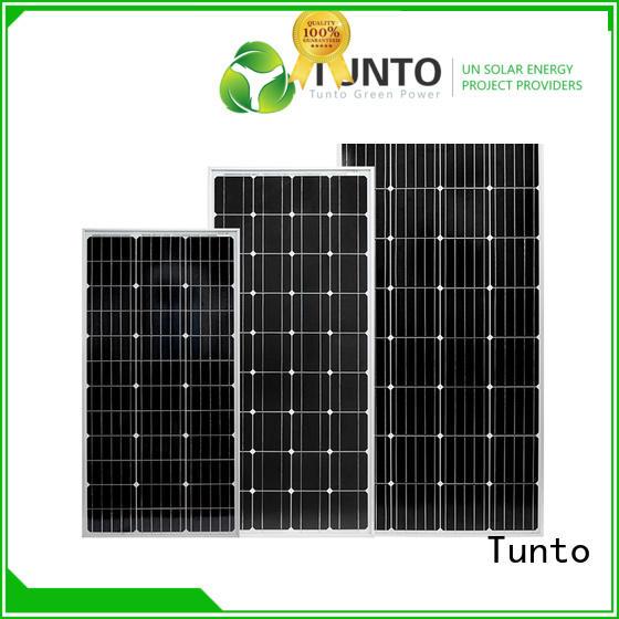 Tunto monocrystalline solar panel wholesale for street lamp
