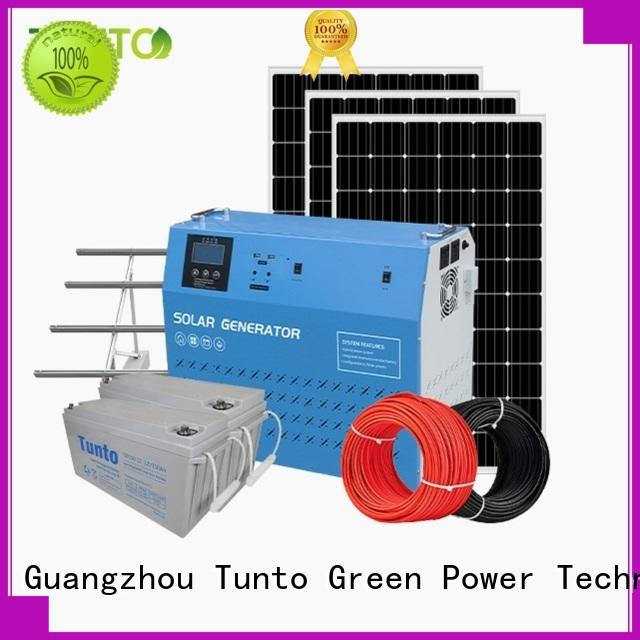 Tunto off grid power systems from China for street