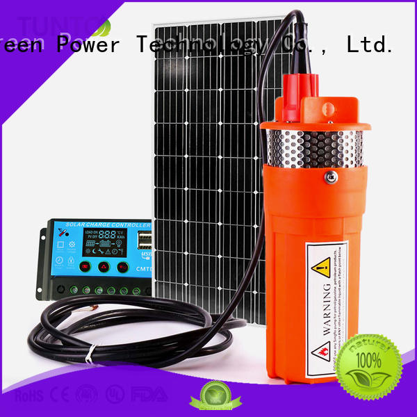 durable solar powered water pump from China for pondaeration