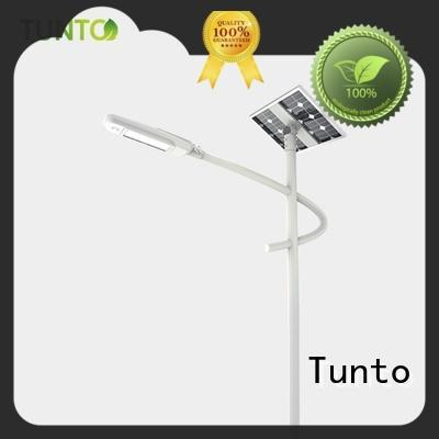 warm solar powered yard lights supplier for plaza