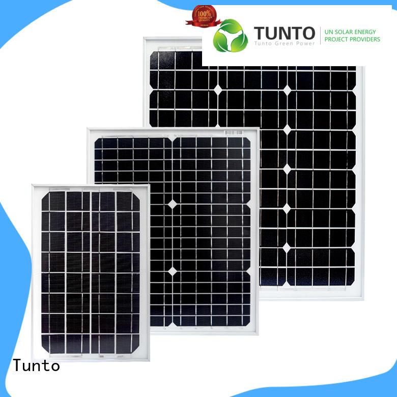 Tunto 40w monocrystalline solar panel factory price for street lamp